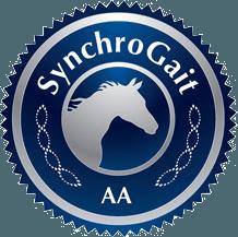 Jellico Gaited Morgans Breeding Goals SynchroGait AA button